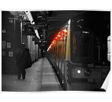 Train Lights Poster