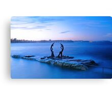 Bower Street Tidal Pool Canvas Print