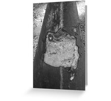 Concrete Matter Greeting Card
