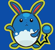 Azumarill by gizorge