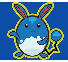 Azumarill Photographic Print