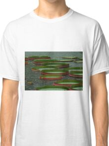 Lily Pad in the Rain Classic T-Shirt