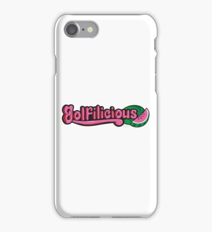 GOLFILICIOUS iPhone Case/Skin