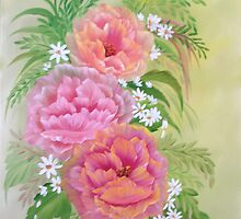 More Poppies oil painting by paintwithbarb