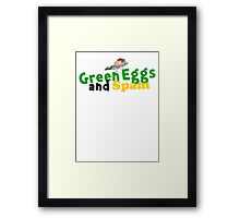 Green Eggs and Spam Framed Print