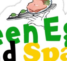 Green Eggs and Spam Sticker
