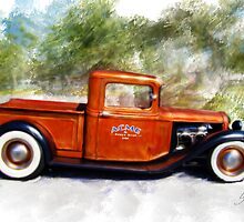 32 Ford Pickup by sharkpuck