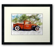 32 Ford Pickup Framed Print