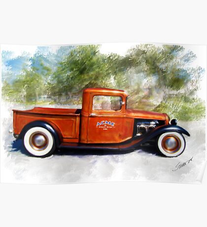 32 Ford Pickup Poster