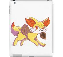 Late for school Fennekin iPad Case/Skin