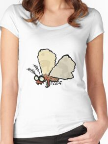 Melli, the mean moth Women's Fitted Scoop T-Shirt