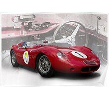 Classic Maserati Poster