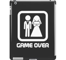 Marriage Series - GAME OVER iPad Case/Skin