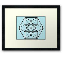 Cube-Octahedron  Framed Print