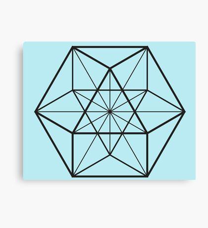 Cube-Octahedron  Canvas Print