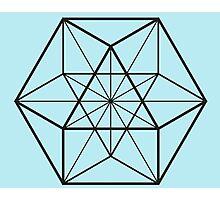 Cube-Octahedron  Photographic Print