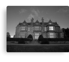 Muckross House in black and white Canvas Print