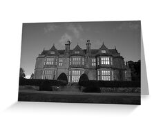 Muckross House in black and white Greeting Card