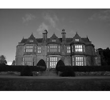 Muckross House in black and white Photographic Print