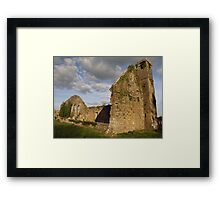 Ruined church at Quin Abbey Framed Print