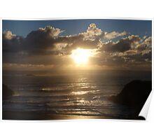 Sunset Breeze Poster