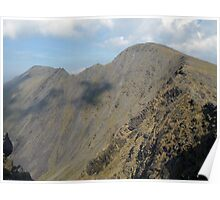 Beenkeragh ridge in summer Poster