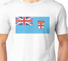 flag of fiji Unisex T-Shirt