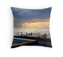 Sunrise at South Curl Curl Beach Sydney Throw Pillow