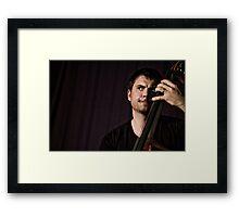 Un homme, 4 cordes...une symphonie! (03) Framed Print