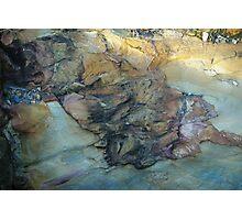 Old Mine Rocks - Bendigo Photographic Print
