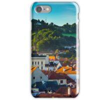 Sunrise in Cesky Krumlov iPhone Case/Skin