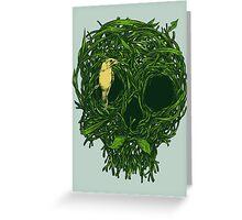 Skull Nest Greeting Card