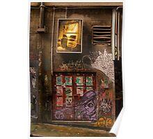 Hosier Lane Doorway Poster