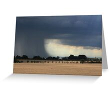 Rainfoot of torrential proportions Greeting Card