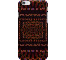 Tumbler No. 24 - Psychedelic Groovy Optical Illusion Geometric Pattern iPhone Case/Skin