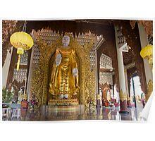 Burmese Temple Penang Malaysia Poster