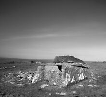 Burren Wedge tomb by John Quinn