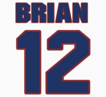 National Hockey player Brian Carlin jersey 12 by imsport