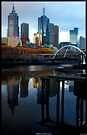 Melbourne by the Yarra by Andrew Wilson