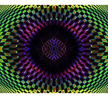 Tumbler No. 27 - Psychedelic Groovy Optical Illusion Geometric Pattern Photographic Print