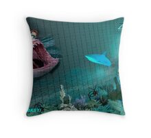 SAVE THE BABY! Throw Pillow