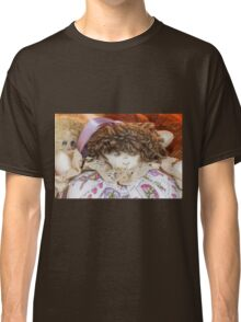 old doll fabric Classic T-Shirt