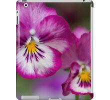 violet in autumn iPad Case/Skin