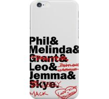 We are Agents of S.H.I.E.L.D. Season 2 iPhone Case/Skin