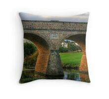 Richmond Bridge Tasmania Throw Pillow