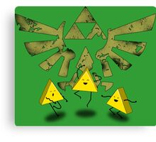 Triforce Dance Canvas Print