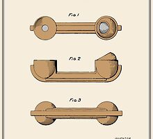 Telephone Handset Patent - Colour by FinlayMcNevin