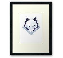Winterfox Framed Print