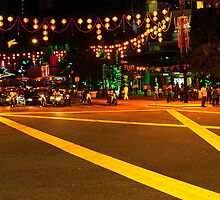 KL, decorated for Chinese New Year by Mahjabeen Mankani