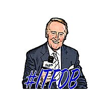 Vin Scully  Photographic Print
